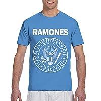 Ramones ラモーンズ Tシャツ 半袖 メンズ 丸首 服 メンズ カジュアル トレーニングウェアインナーシャツ おしゃれ トップス スポーツ