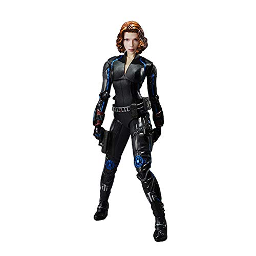 MEI XU Hot 15cm Viuda Negra Súper Héroe Avengers Figura de Acción Móvil Juguetes Colección Caja Modelo De Juego