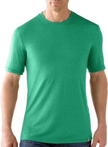 Smartwool t-Shirt à Manches Courtes Coupe Slim pour Homme thé Vert Clover Small