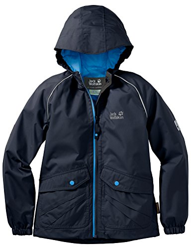 Jack Wolfskin Kinder Jacke Marron Texapore JKT, Night Blue, 116, 1605201-1010116