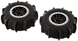top rated Traxxas 5891 SCT Wheel SS Black Satin Paddle Tire 2021