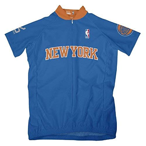 VOmax NBA Damen Trikot New York Knicks Away Short Sleeve, Damen, blau, Large