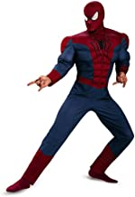 Disguise Men's Marvel The Amazing Spider-Man Classic Muscle Costume