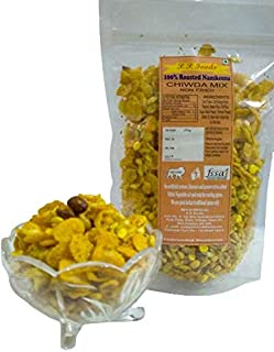 P P Foods Roasted Chiwda Mix /Healthy Snacks/Diet Snacks 400 gm (Pack of 2, 200gm Each)