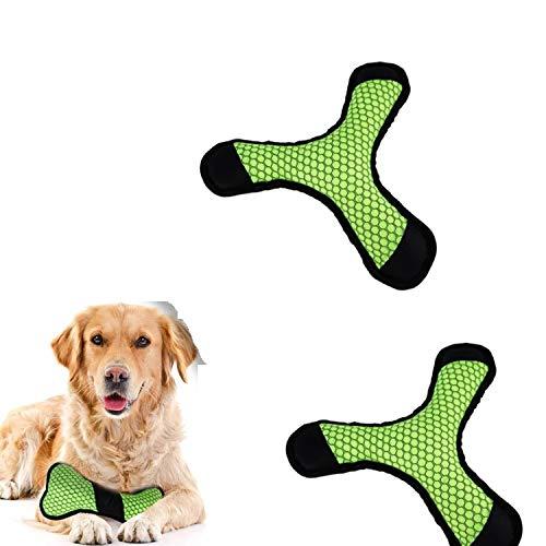Ysswjzz Hondenspeelgoed, Hondenmolens Interactieve Darts-botten Knuffel Huisdierenspeelgoed, Voor Grote Honden Middelgrote Honden Puppyhond Verjaardagscadeausets-2 Stuks