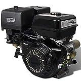 15 HP 9,6 kW Motor de gasolina con arranque eléctrico, Negro