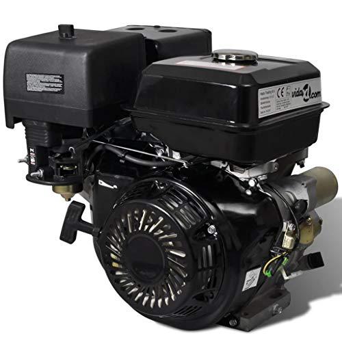 vidaXL Benzinmotor 15HP 9,6kW Ersatzmotor Industriemotor Standmotor Kartmotor