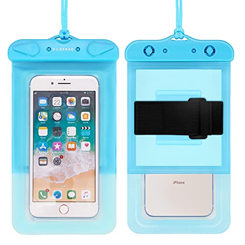 Waterproof Float Phone Pouch with Neck Trap and Armband, Waterproof Phone case, Dry Bag Outdoor...