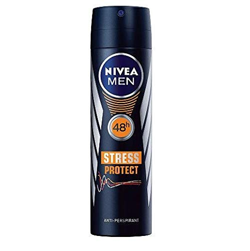 "6 x NIVEA Men Deospray\""Stress Protect\"" 48h, Anti-Perspirant - 150 ml"