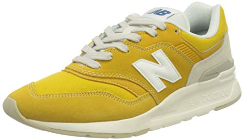 New Balance Herren 997h h Sneaker, Gelb (Yellow Hbr), 46.5 EU