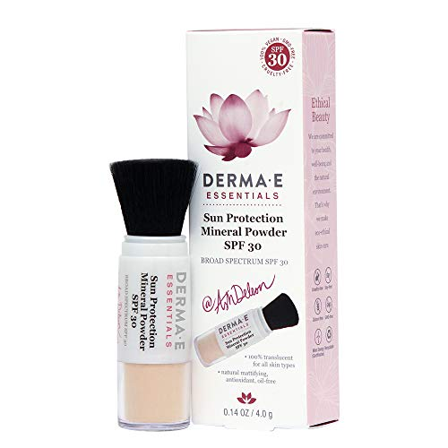 DERMA-E DERMA E Sun Protection Mineral Powder SPF 30, Basic Chamomile, 0.18 Ounce