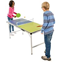 Pick-Up-And-Go Ping-Pong Table