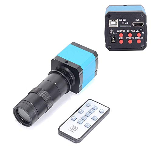 HAYEAR 14MP Full HD HDMI USB Industry Digital C-Mount Microscope Camera 100X Zoom C-Mount Lens