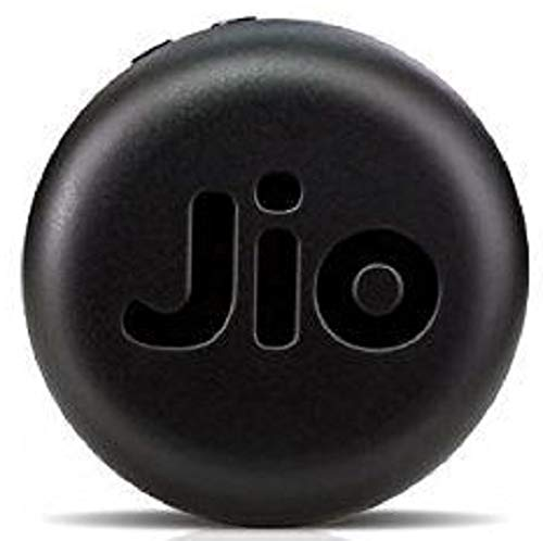 JioFi 4G Hotspot JMR815 150 Mbps Jio 4G Portable WiFi Data Device (Black)