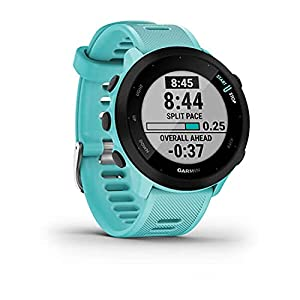 Garmin Forerunner 55, GPS Running Watch with Daily Suggested Workouts, Up to 2 Weeks of Battery Life, Aqua