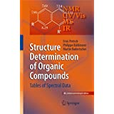 Structure Determination of Organic Compounds: Tables of Spectral Data (English Edition)