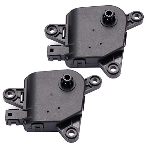 cciyu Air Door Actuator Replace 4885206AA 4885206AB 5019631AA fit for Chrysler,Dodage Ram,SRT Heater Blend Door Actuator -Recirculation,Pair
