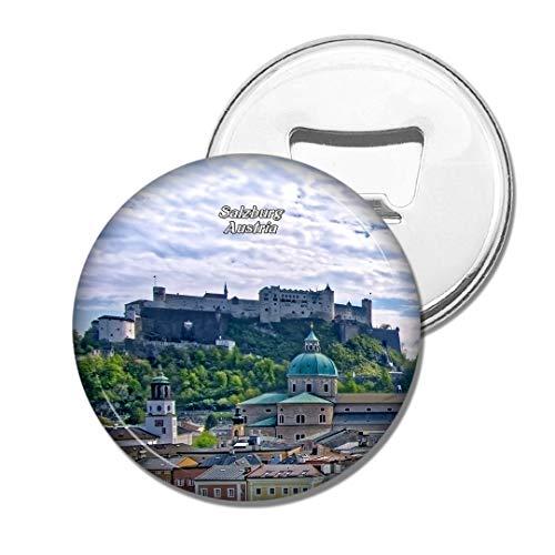 Weekino Österreich Festung Hohensalzburg Salzburg Bier Flaschenöffner Kühlschrank Magnet Metall Souvenir Reise Gift