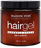 MAJESTIC PURE Hair Gel for Men - Durable Hold Styling - Light Sheen,...