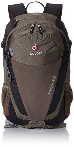 Deuter Unisex's Airlite Backpack, Stone/Black, 52 x 25 x 18 cm, 22 Litre