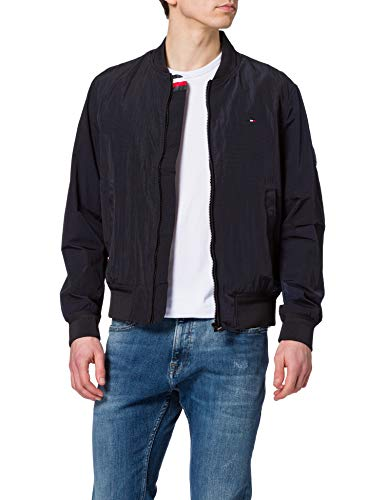 Tommy Hilfiger Lightweight Bomber Giacca, Cielo del Deserto, S Uomo