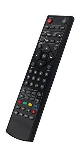 Mando a distancia XMU/RMC/0034 adecuado para Blaupunkt, Emoción, Eternidad, Logix, Mitsai, Tevion, UMC, JMB y Technika TV.