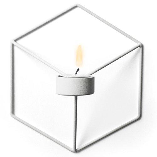 Menu 4766639 Wand-Kerzenhalter POV, 21 x 10,5 x 18,5 cm, weiß