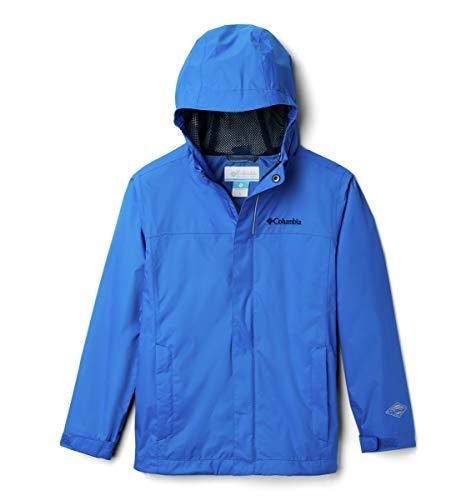 Columbia Watertight Veste de Pluie Garçon Super Blue FR : XL (Taille Fabricant : XL)