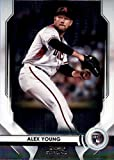 2020 Bowman Sterling #BSR-89 Alex Young RC Rookie Card Arizona Diamondbacks Official MLB Baseball Card in Raw (NM or Better) Condition. rookie card picture
