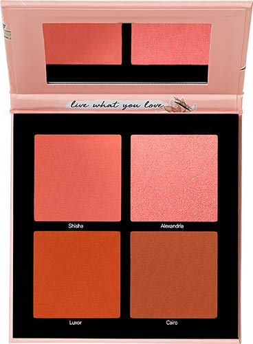 Catrice x EMAN 4-Shade Universal Blush Palette   Buildable & Buttery Powder Formula   Vegan   Alcohol, Perfume & Oil Free   Cruelty Free