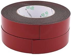 DealMux 2 stks 30mmx1mm Duplo Tape Sponge Zijdig adesivo autocolante Foam Lijm faixa de vedação 10 Metros 33 stuks