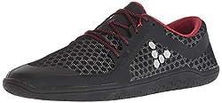 commercial Vivobarefoot Primus HIVIZ Classic Road Runner Women's Shoes, Black, 39 D EU (8 US) vivobarefoot running shoes