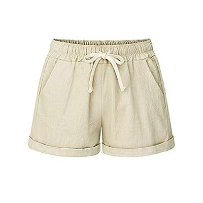2019 Fashion!Women New Hot Pants Summer Floral Shorts High Waist Short Pants Trousers Khaki by Dunacifa
