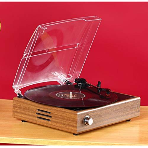 CS-LJ Gramophone Disco de Vinilo Jugador Europeo Retro del