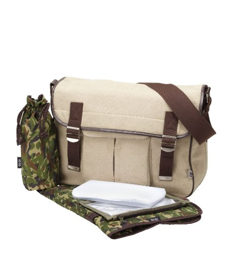 OiOi Messenger Military, mit Camouflage Futter