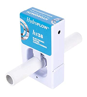 HydroFLOW | Electronic Water Softener | No Salt No Chemical Water Conditioner | Removes and Prevents Scale Build Up | For RVs Residential Water Heaters and Plumbing