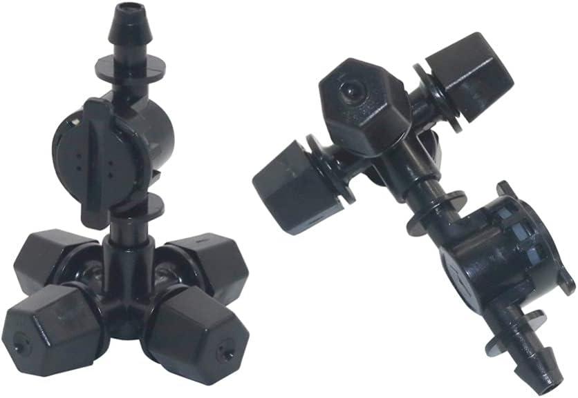 Limited price Koleso 4mm Barb Black Cross Anti-drip Long-awaited With Greenh Garden Sprayer