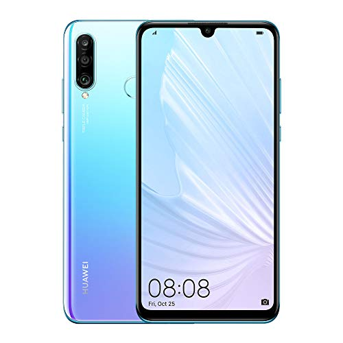 "Huawei P30 Lite - Smartphone 6+256 GB, 6.15"" FHD+, 48MP AI Ultra-wide Triple Camera, Desbloqueado - Piedra Lunar"