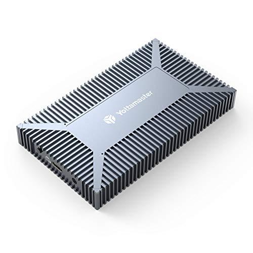 Yottamaster Dual Bay M.2 RAID Enclosure for M.2 (NGFF) SATA SSD, USB3.1 Type-C 10Gbps M.2 SSD RAID Enclosure Support RAID 0/1, Span(jbod), PM Modes - Up to 4TB,Support UASP & Smart [SO4]