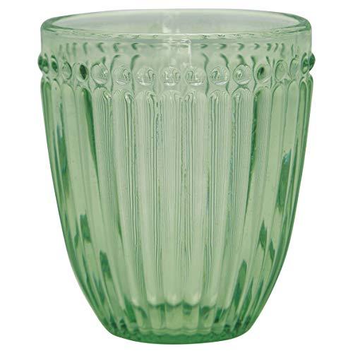 GreenGate - Wasserglas - Alice - Pale Green - 9,5 cm