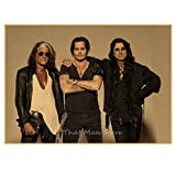 ZJYWYCN Plakat Alice Cooper Vintage Rockband Musik Star