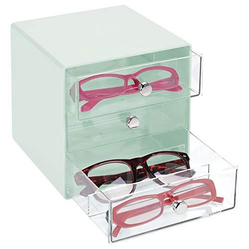 MDesign Cajas gafas sol – Cajoneras plástico 3