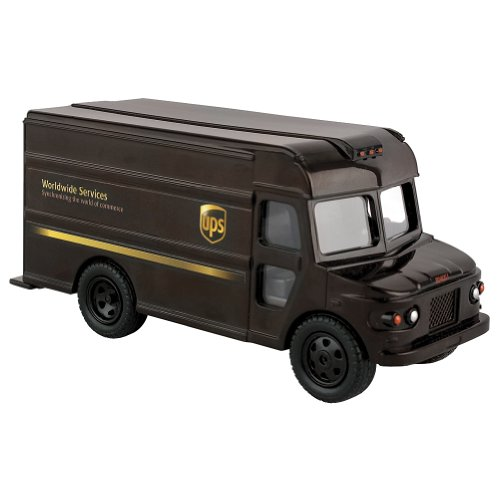 5Star-TD UPS-United Parcel Service Pull Back Action Messenger Package Delivery Truck