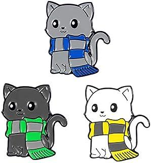 Conjunto de alfileres de animales Unicornio hipopótamo cerdo panda gato perro conejo broches insignias divertidos amigos r...