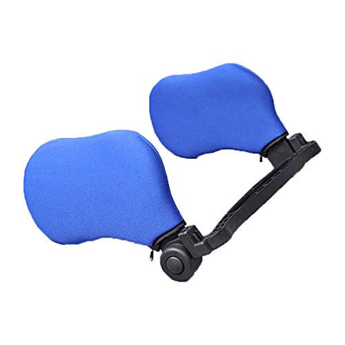 Zytc de siège de voiture appui-tête respirant Tête support de cou Oreiller enfants Enfants adultes Sleeping Taie d'oreiller Oreiller de voyage