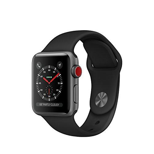 Apple Watch Series 3 4G Boitier 38mm en Aluminium