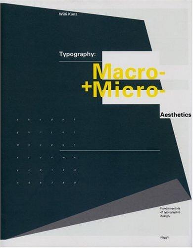Typography: Macro and Microaesthetics