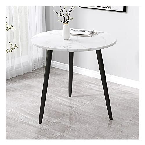 YAYADU-Storage Basket Tavolino, Tavolino Rotondo Moderno per La Casa, caffè, tè, per Soggiorno, Camera da Letto E Balcone, Facile da Montare (Color : Black, Size : 70x70x71cm)