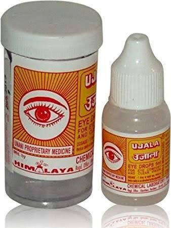 Ayurvedic himalaya ujala eye drops 5ml_ pack of 10 pcs.