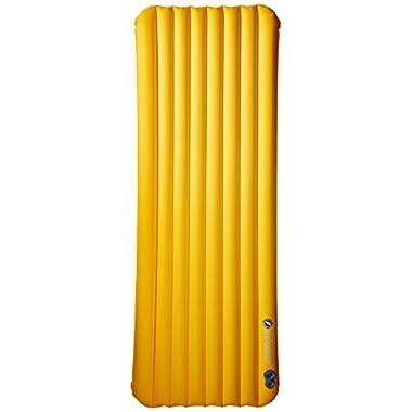 Big Agnes Air Core Ultra Sleeping Pad, 20x72 REGULAR,Gold